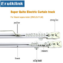 Eruiklink High quality Electric Curtain track for Xiaomi aqara motor, Super quite curtain motor Smart Home