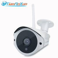 TIANANXUN Outdoor Wireless IP Camera HD Video Audio Record Wifi Wired Network Surveillance Waterproof Night Vision
