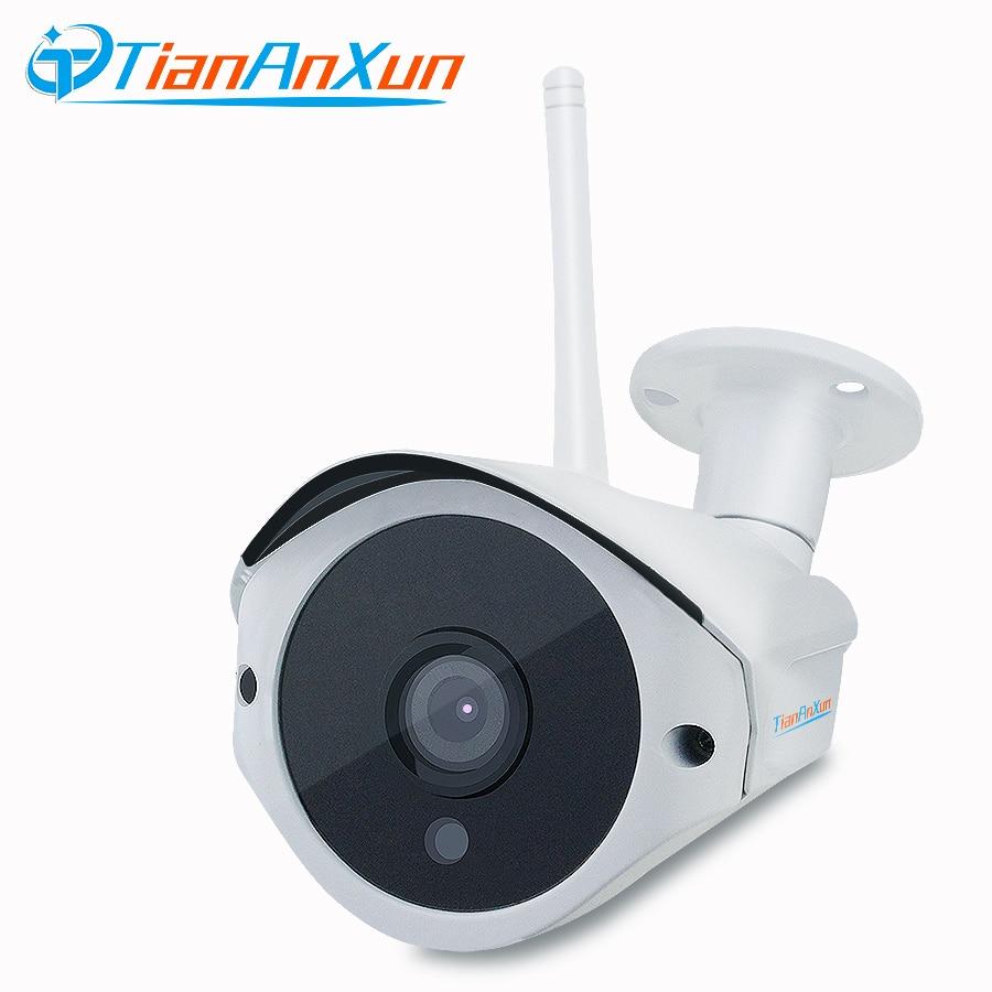 TIANANXUN открытый Беспроводной IP Камера HD Видео Аудио запись Wi-Fi проводной сети видеонаблюдения водонепроницаемый ночного видения Камера yoosee