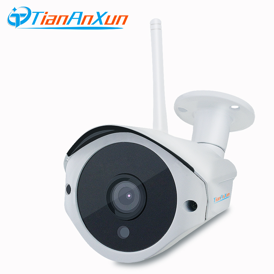 TIANANXUN Outdoor Wireless IP Camera HD Video audio Record wifi Wired Network surveillance waterproof night vision Camera ONVIF fpv 1 2ghz 100mw 4ch wireless audio