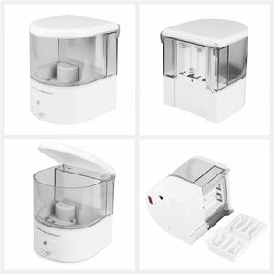 Image 4 - New Battery Powered 600ml Wall Mount Automatic IR Sensor Soap Dispenser Touch free Kitchen Soap Lotion Pump for Kitchen Bathroom