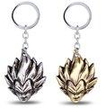 MS JEWELS 6pcs Batch Anime Figure Dragon Ball Vegeta Head Keychain Metal Key Rings llavero Key Chain Key Gifts Fans Promotion
