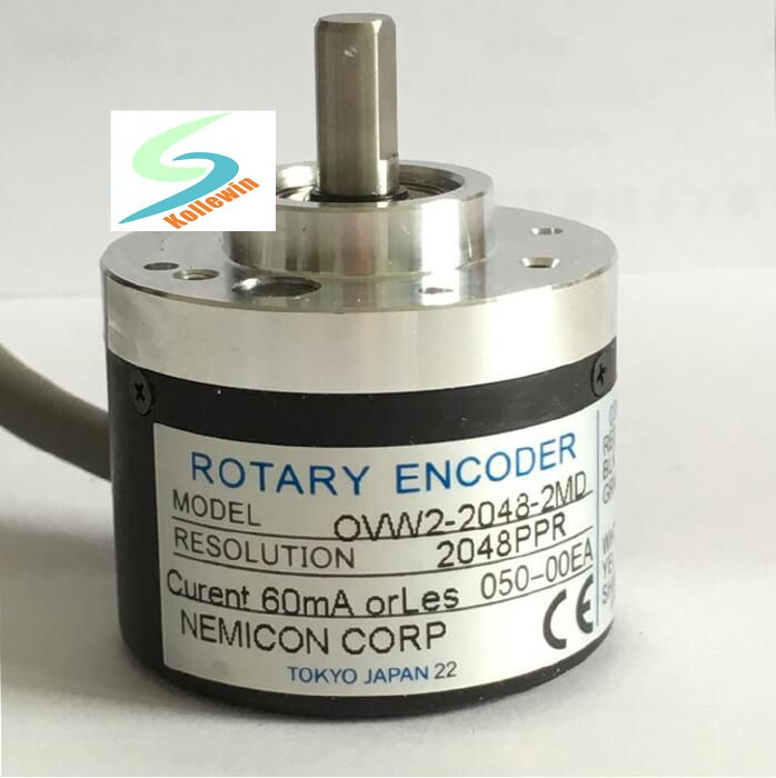 OVW2-2048-2MD incremental photoelectric encoder, new in box, Free Shipping. new original ern1387 2048 62s14 70 rotary encoder ern1387 2048 62s14 70