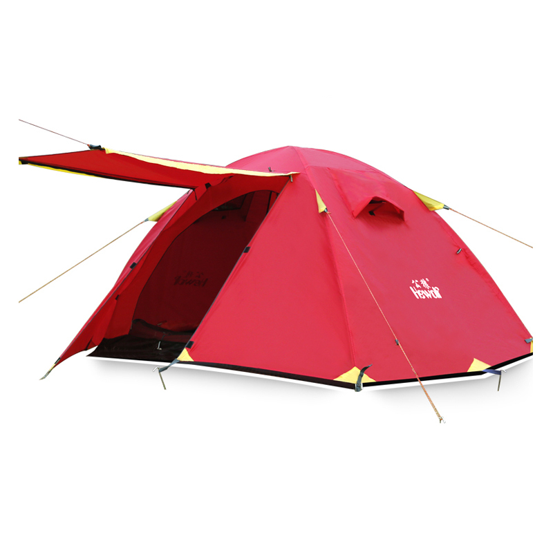 2 People Outdoor Professional Standard Winter Camping Tent Beach Hiking Ice Fishing Climbing Mountaineering Waterproof Windproof professional camping gear 2 people outdoor 4 reason camping tent hiking climbing backpacking mountaineering tourism ultralight