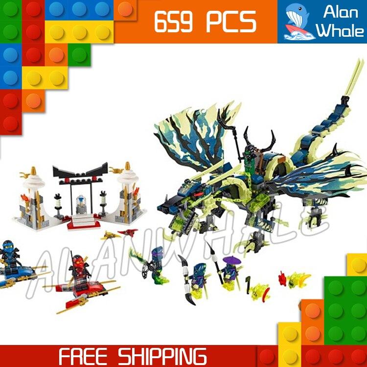 658pcs Bela 2016 new 10400 Ninja Attack of the Morro Dragon Building Kit Blocks Set Compatible With lego ninja attack of the morro dragon dark action figure model building block brick toy minifigure ninjagoed legoeddis