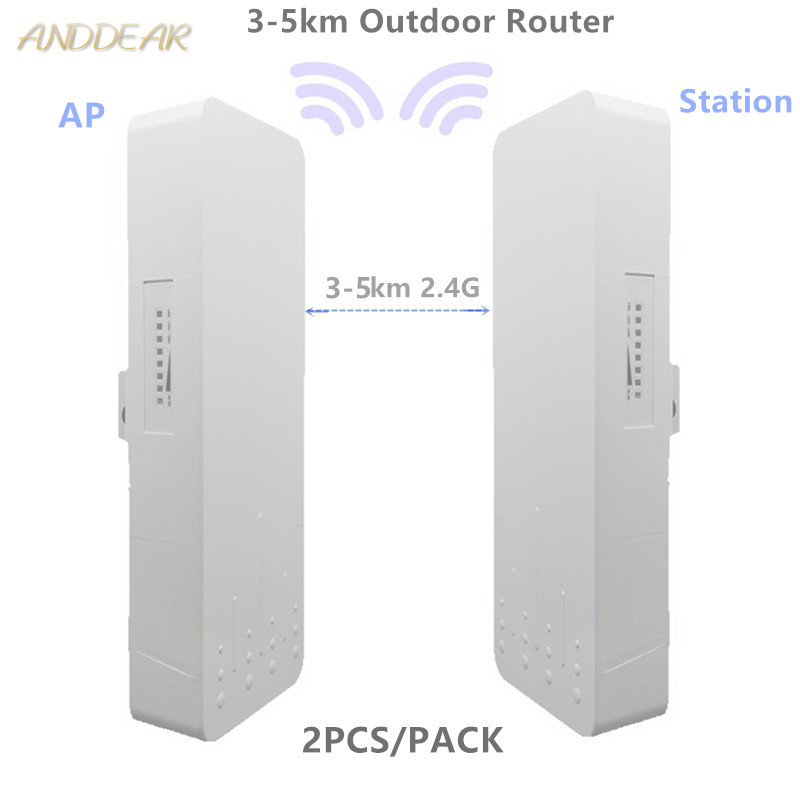 9344 9531 1-3km Chipset WIFI Router WIFI Repeater Long Range 300Mbps 5.8ghz Outdoor AP Router  AP Bridge Client Router RepeaterZ