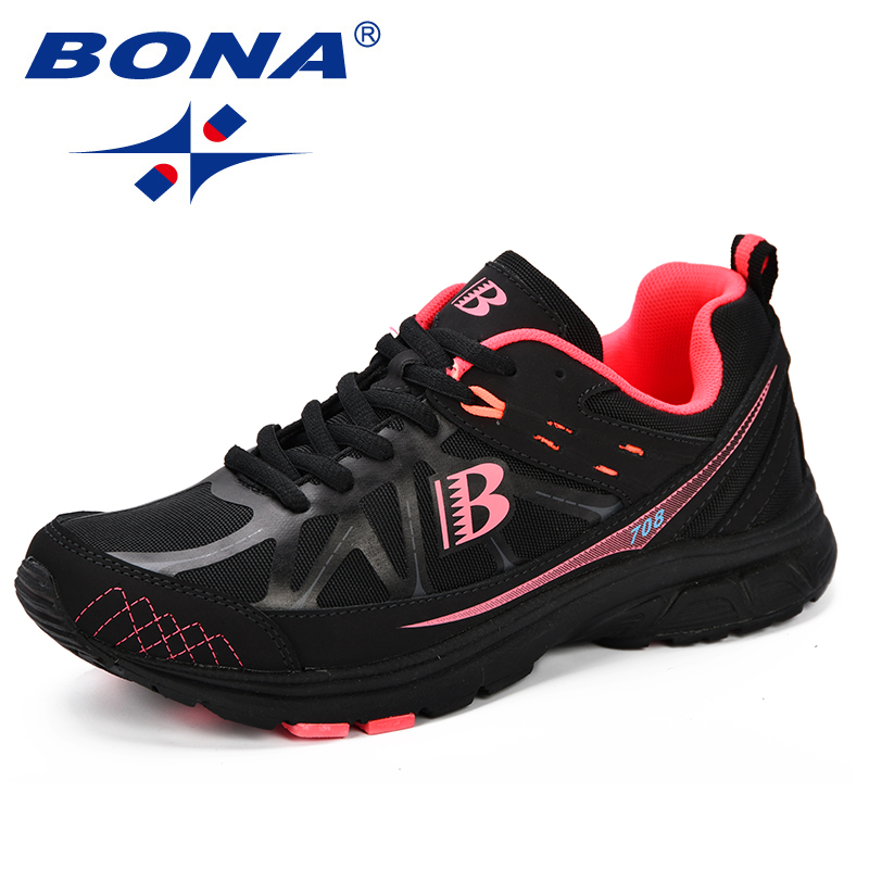 BONA New Classics Women Running Shoes Chaussure Femme Breathable Sneakers Women Sport Shoes Woman Zapatillas Mujer