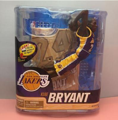 New Kobe Bryant NBA star limited edition Action Figure Model 6 inch Toy Collections Dolls basketball NBA Los Angeles Lakers gift баскетбольную форму lakers