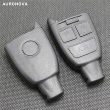 AURONOVA New Replace Smart Key Shell for FIAT Croma 3 Buttons Remote Original Car Case