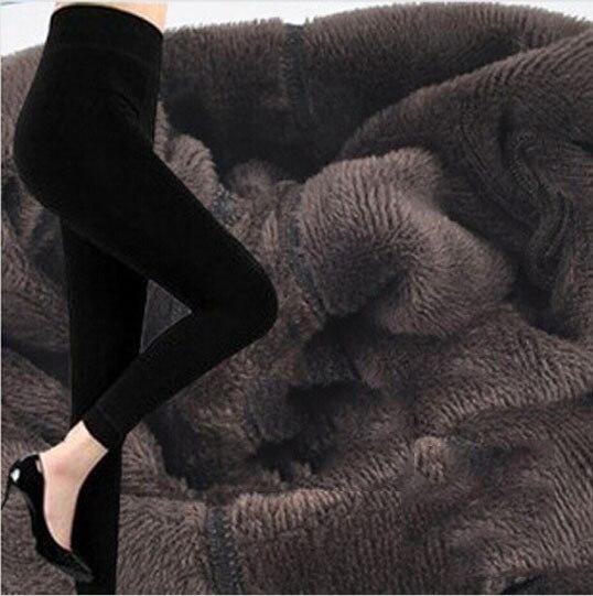 Плюс кашемировые леггинсы женские повседневные теплые зимние вязаные толстые обтягивающие леггинсы супер эластичные