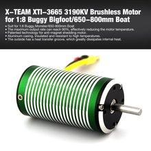 купить XTI-3665 3190 3580 3190 2680 2300 KV 5mm Brushless Sensorless Motor for 1:8 RC Off-road Car Buggy Bigfoot/650-800mm Boat Ship по цене 1028.42 рублей