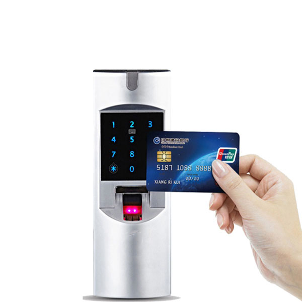 High Grade Gl Door Fingerprint Lock Single Open Double The To Office Credit Card Intelligent Electronic Anti Theft Intellig In Locks From Home