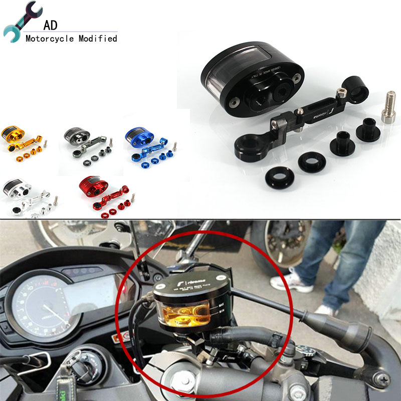 Brake Fluid Reservoir For Honda CBF150SF BF190R Shadow SDH150 BX150 CB125X Clutch Tank Oil Fluid Cup Motorcycle Accessories # universal motorcycle brake fluid reservoir clutch tank oil fluid cup for mt 09 grips yamaha fz1 kawasaki z1000 honda steed bone