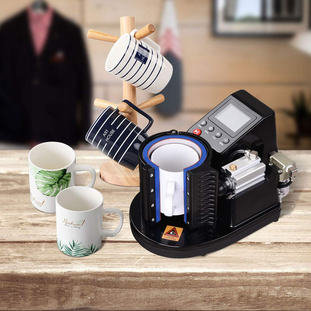 2019 11oz Pneumatic Mug Press MachineST 110 Sublimation Mug Heat Press Machine Mug Printer Diy Mug