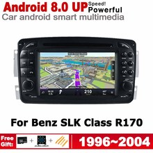 6.2 HD DSP Android 8.0 up Car DVD GPS Navi Map For Mercedes Benz SLK Class 1996~2004 NTG 2 DIN multimedia player radio WiFi цена