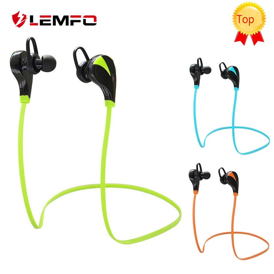 LEMFO G6 Bluetooth 4.0 Headset Stereo Sports Wireless Handsfree In Ear Earphone Sweatproof for iPhone Samsung HTC Nokia
