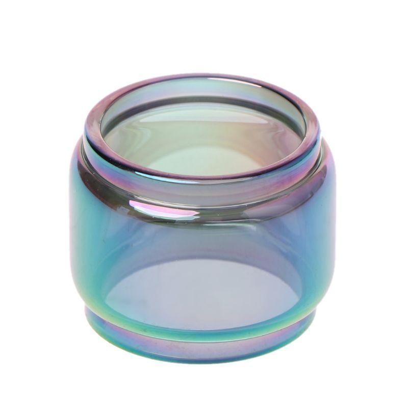 Transparent Rainbow Vape Glass Tube Glass Tank Electronic Cigarette Accessories For Vape Pen 22 Vaporizer Atomizer