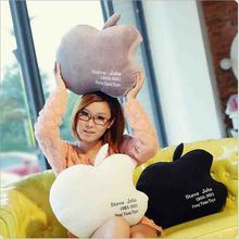 Lovely apple pillow creative iphone shape  back cushion valentine's day gift