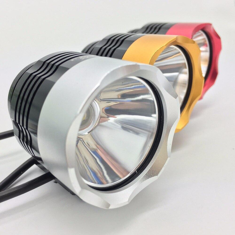 TOS T6 1000 Lumen 3 Mode USB lumière de vélo vélo accessoires LED Pour Vélo Waterpoof Vélo Avant Lumière lampe de vélo lampe de poche