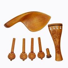 4/4 buchsbaum Violine zubehör hochwertige violine zubehör Set für verkauf