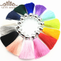6.5CM silk tassels/jewelry accessories/diy jewelry findings/jewelry making accessories