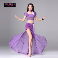 New 2017 Best Selling Comfortable Yoga Clothing Sets Belly Dance Fans And Women S Color Belly