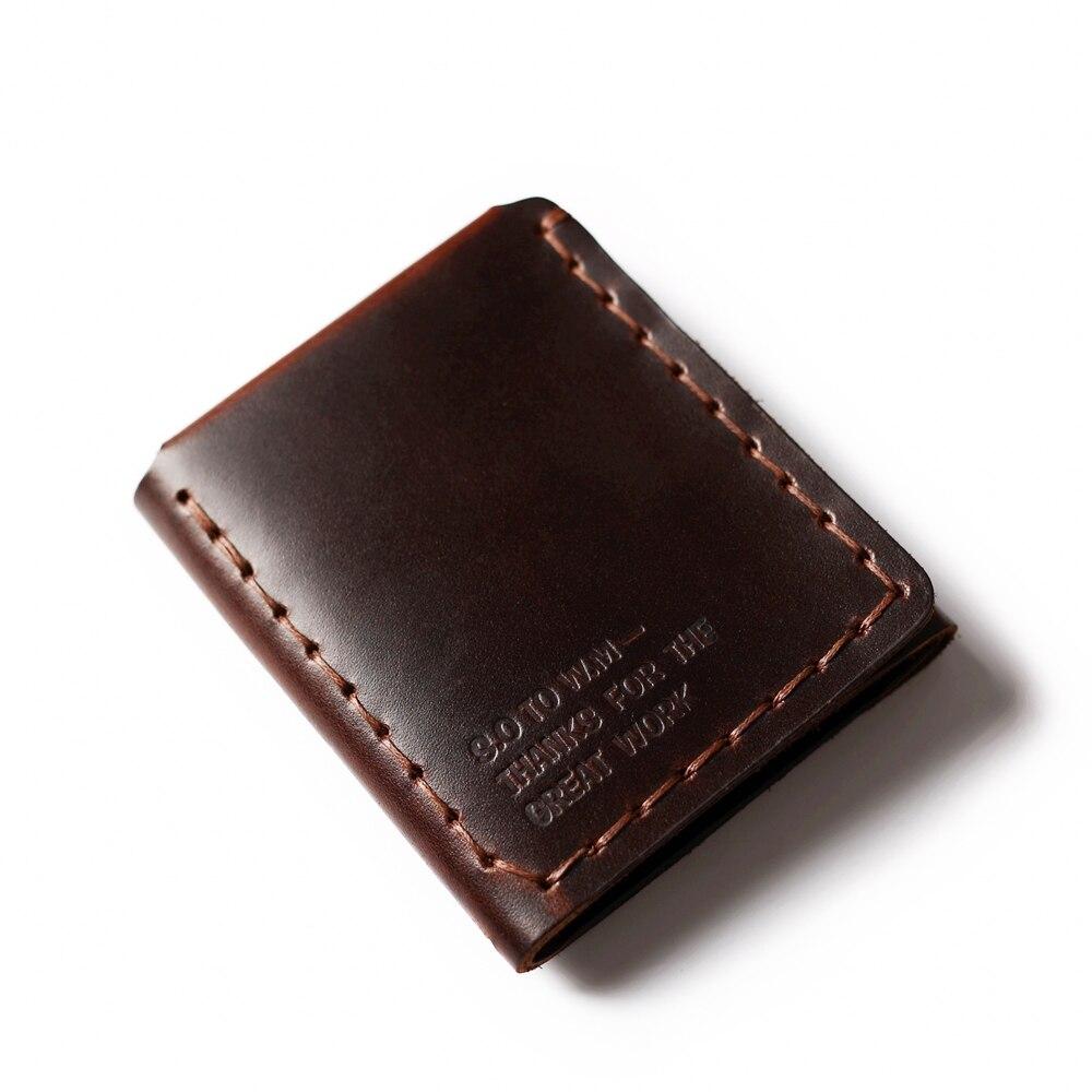 Äkta läder plånbok män Det hemliga livet av Walter Mitty Cow - Plånböcker - Foto 3
