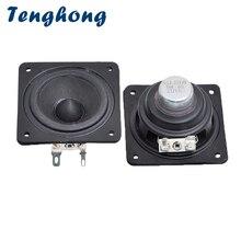 Speakers Bookshelf Stereo Portable Home Theater Full-Range 4 Tenghong 1 10W for 8-Ohm