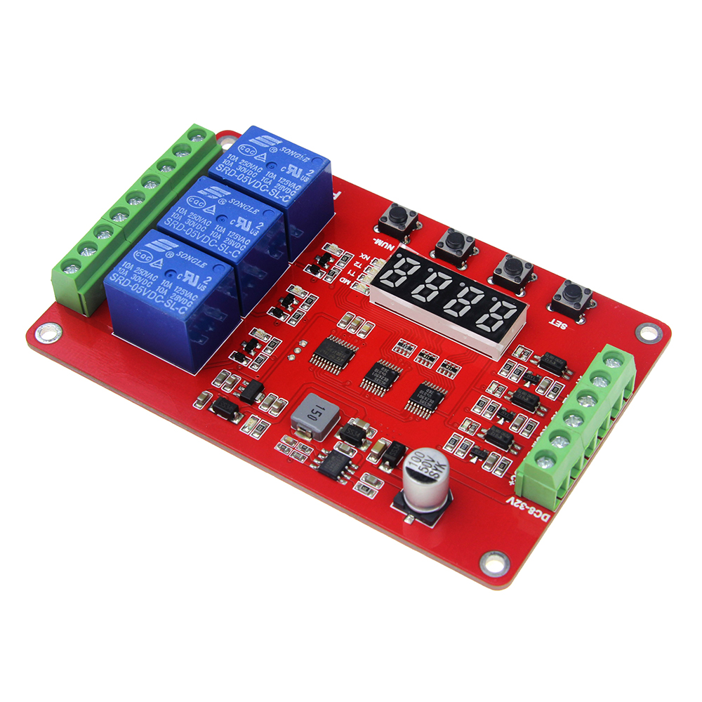 Free Shipping FRM03 Relay Module / Cycle / Delay / Timer / Switch / Lock / 18 Kinds of Functions Can be Set 1pc timer delay relay delay turn on delay turn off switch module with timer dc 12v
