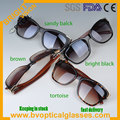 3002 Hot sale delicate QUALITY full rim with bamboo temple UV400 sunglasses sunshades sun glasses