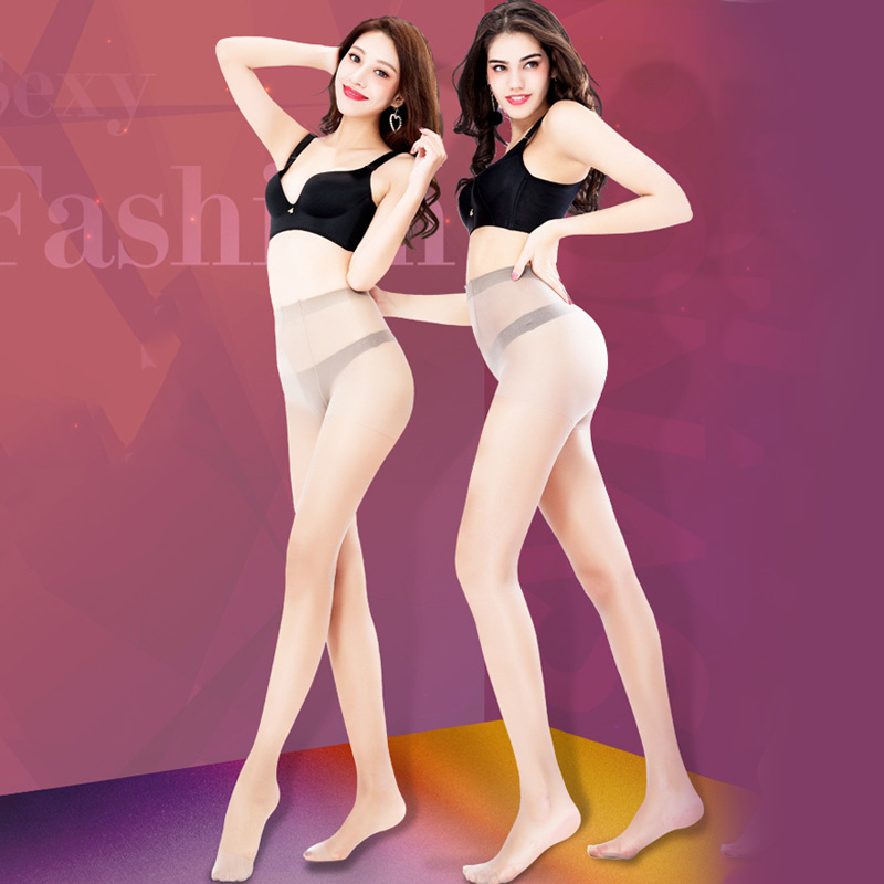 Summer Thin Pantyhose for Women Girls Sexy Nylon Tights Stockings Female Solid Color Elastic Seamless Pantyhose Hosiery Medias