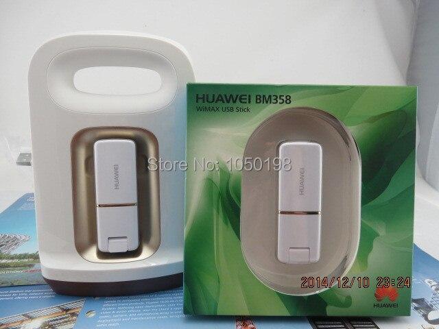 Huawei BM358 2.3-2.4 GHz sans fil 4g clé usb + berceau de poussée