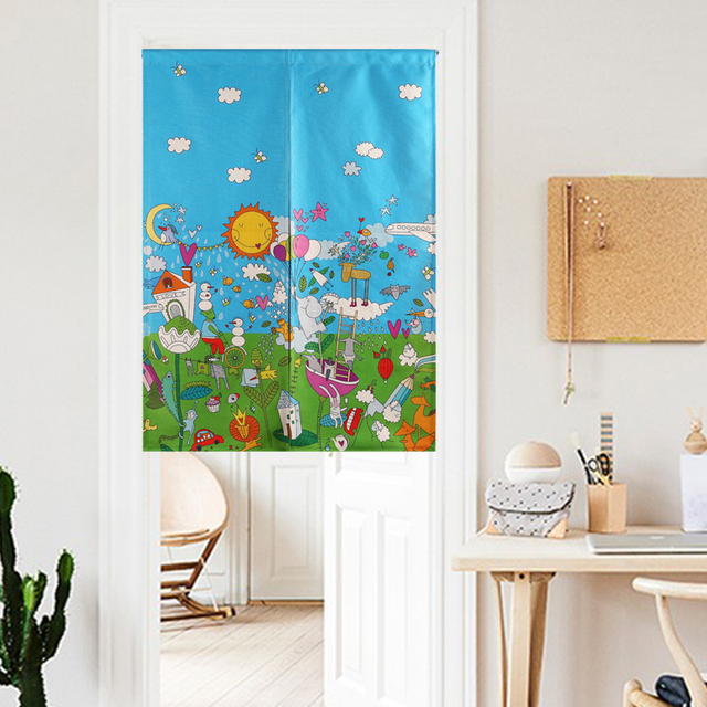 New Linen cotton cartoon animal Style Lotus flower Door Curtain Crane Floral Moon Tapestry 85x120cm/  sc 1 st  AliExpress.com : door tapestry - pezcame.com