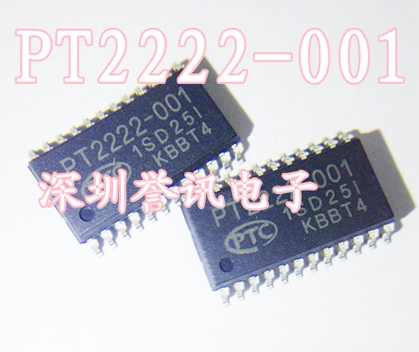 New Infrared Remote Control Transmitter Chip PT2222-001