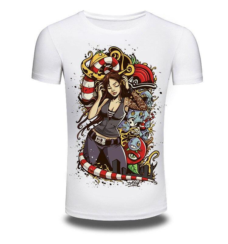 Brand Clothing Summer Fashion 3D Print Short Sleeve T Shirt Men/Women Shirts T-shirt White Beautiful Tree T-shirts Top Tee AW020