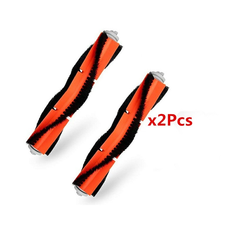 2PCS Main Brush Suitable For Xiaomi Mi Robot Roborock S50 S51 Vacuum Cleaner Parts Accessories