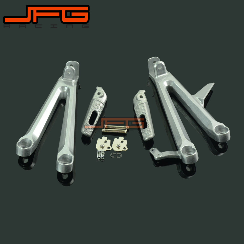 Footrests Rear Foot Pegs Pedals Rest Footpegs For HONDA CBR1000RR CBR 1000 RR 2004 2007 2004