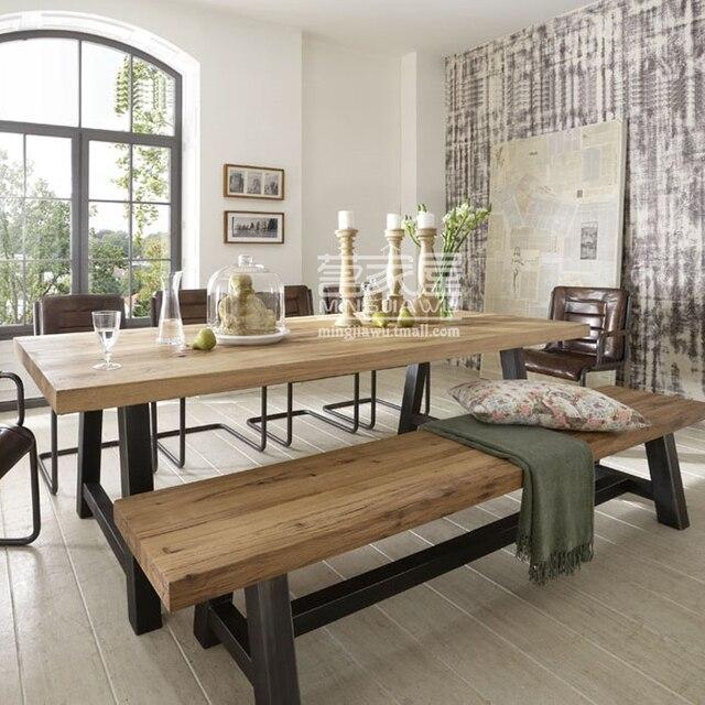 Banco de trabajo de madera de pino americano Videos mesas de comedor ...