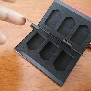 Image 5 - Caja de almacenamiento de aluminio para tarjetas de juego para Nintendo Switch, funda con carcasa dura 6 en 1