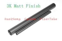 2db 3k szénszálas cső OD 5mm 6mm 7mm 8mm 9mm x500mm (tekercselt) Nagy szilárdság és magas korrózióállóság