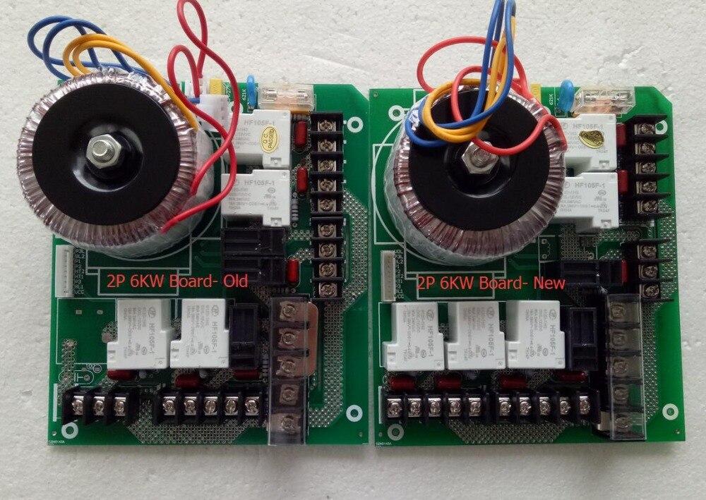 board para 2 Bomba e aquecedor 6KW