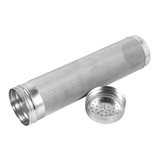 300 Micron Stainless Steel Hop Spider Mesh Beer Filter For Homemade Brew Home Coffee Dry Hopper 7x18cm 7x29cm Home Brew