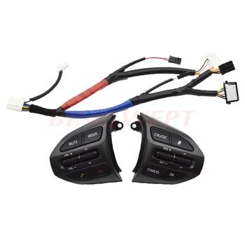 Kostenloser versand Hohe Qualität Für Kia K5 (2014-2015) auto lenkrad tasten auto-styling tempomat tasten Bluetooth taste