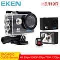 Original Eken H9/H9R action camera 4 K wifi Ultra HD 1080 p 60fps 170D Ir à prova d' água mini cam pro câmera de esportes