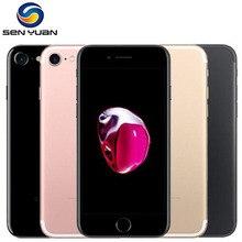 Разблокированный Apple iPhone 7 четырехъядерный 4,7 дюймов 12,0 МП камера 4G LTE мобильный телефон отпечаток пальца Touch ID б/у телефон