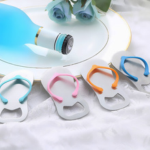 8d7d92c7b368 Festival Kitchen Accessories Flip-flops Shaped Home Supplies Stainless  Steel Bottle Opener Party Home 3Colors
