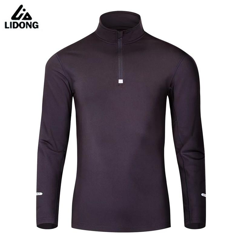 2017 New Men Compression Sports Shirts Long Sleeve Elastic Gym Fitness Running Shirts Soccer Basketball Sports Base Layer Tights 2016 boys running pants soccer trainning basketball sports fitness kids thermal bodybuilding gym compression tights shirt suits page 1