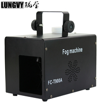 Free Shipping 2018 Newest Fog Smoke Hazer 900w Haze Fog Machine With DMX512 OR Remote Control