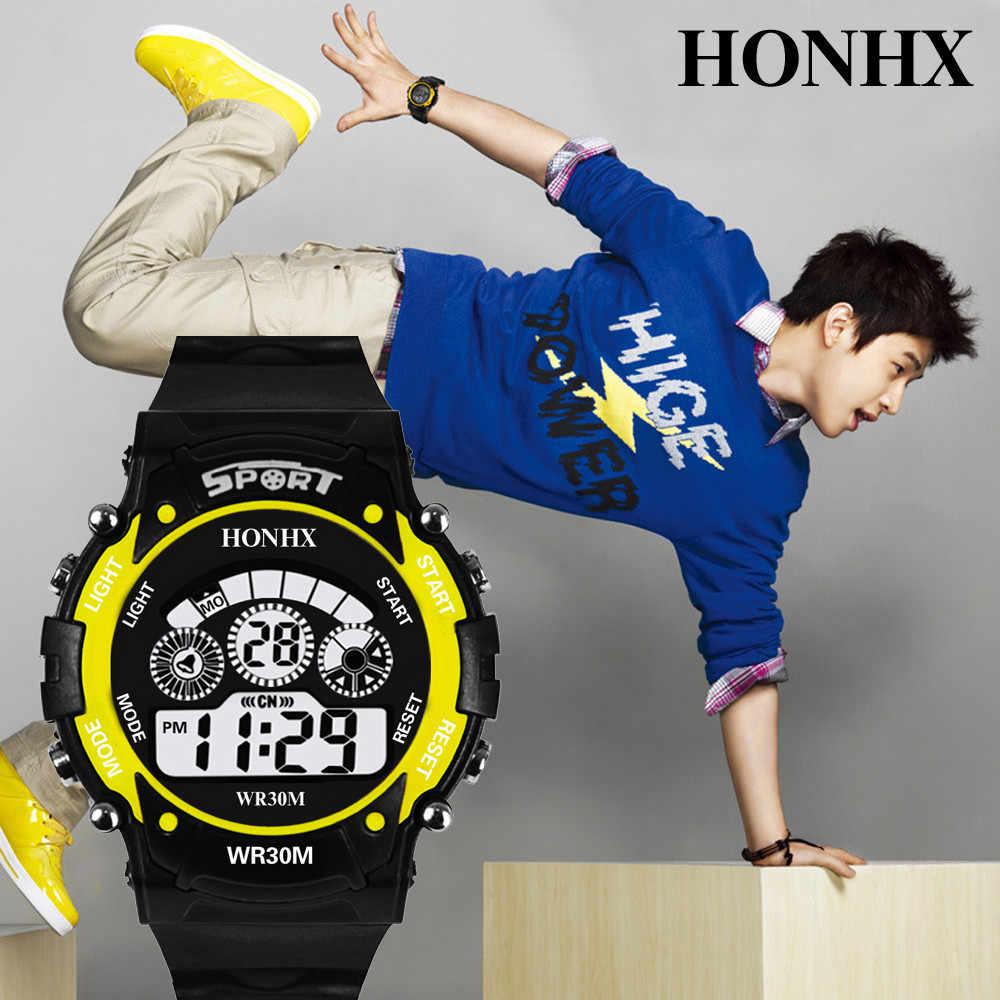 Часы мужские 30 м водонепроницаемый электронный светодиодный цифровой Открытый мужские спортивные наручные часы Секундомер Relogio Masculino 2018 reloj hombre