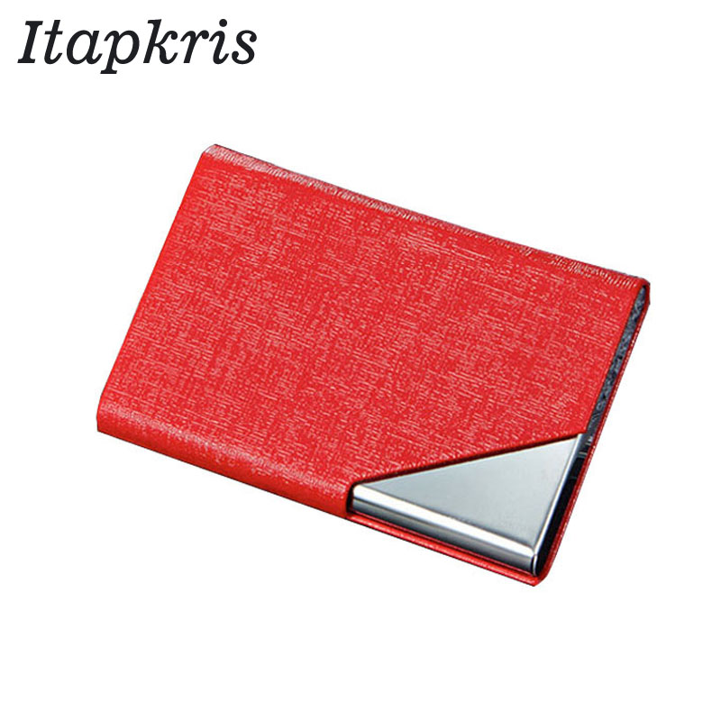 Steel Women Bank Credit Card Holder Travel Lady Protection RFID Wallet High Quality Female Pocket Multi-Card Case Porte Carte 2018 pu leather unisex business card holder wallet bank credit card case id holders women cardholder porte carte card case